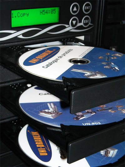 Tour de duplication CD/DVD
